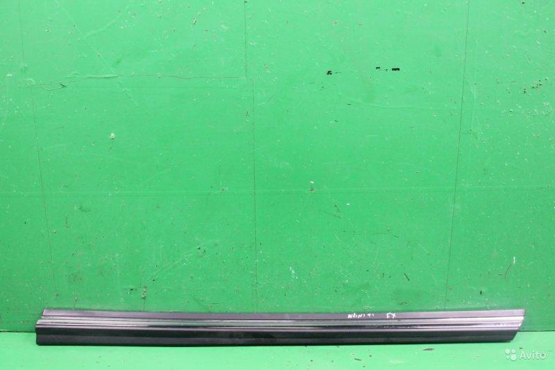 Накладка двери Infiniti Fx S51 2008 передняя правая (б/у)