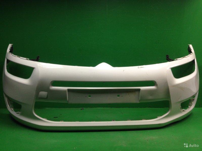 Бампер Citroen C4 Picasso 2 2013 передний (б/у)