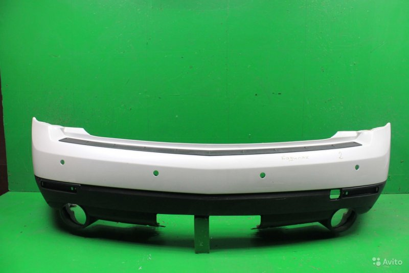 Бампер Cadillac Srx 2 РЕСТАЙЛИНГ 2012 задний (б/у)