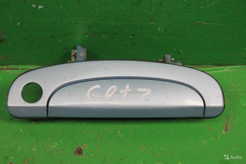 Ручка двери Hyundai Getz РЕСТАЙЛИНГ 2005 передняя правая (б/у)