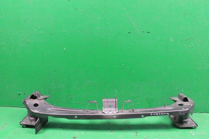 Усилитель бампера Citroen C-Crosser 2007 передний (б/у)