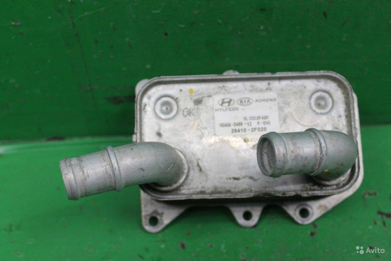 Радиатор масляный Kia Sorento 2 2009 (б/у)