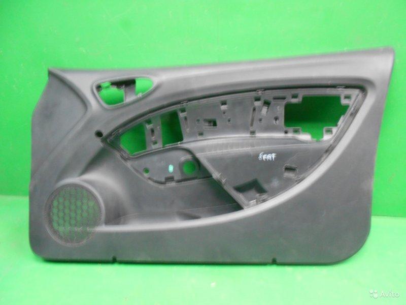 Обшивка двери Seat Ibiza 4 2008 передняя правая (б/у)