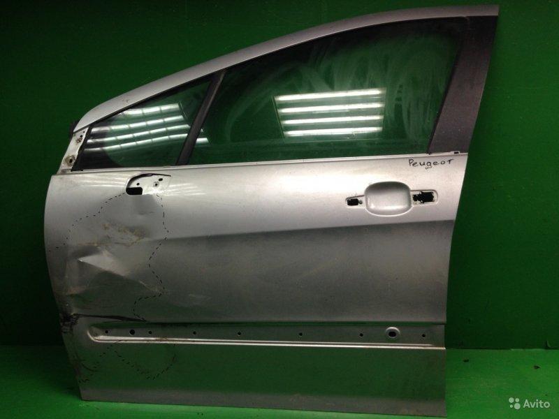 Дверь Peugeot 308 2008 передняя левая (б/у)