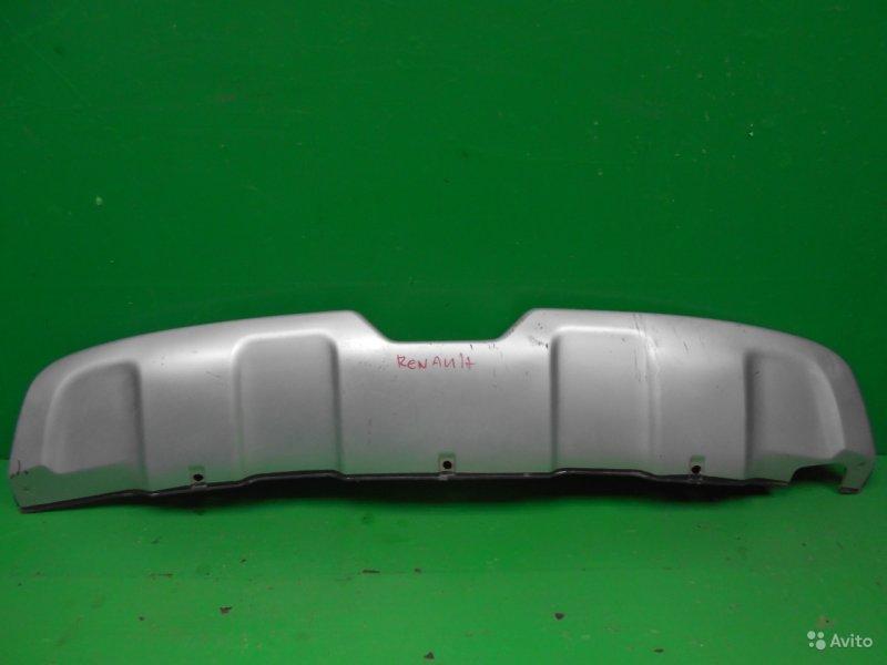 Накладка бампера Renault Koleos 2008 задняя (б/у)