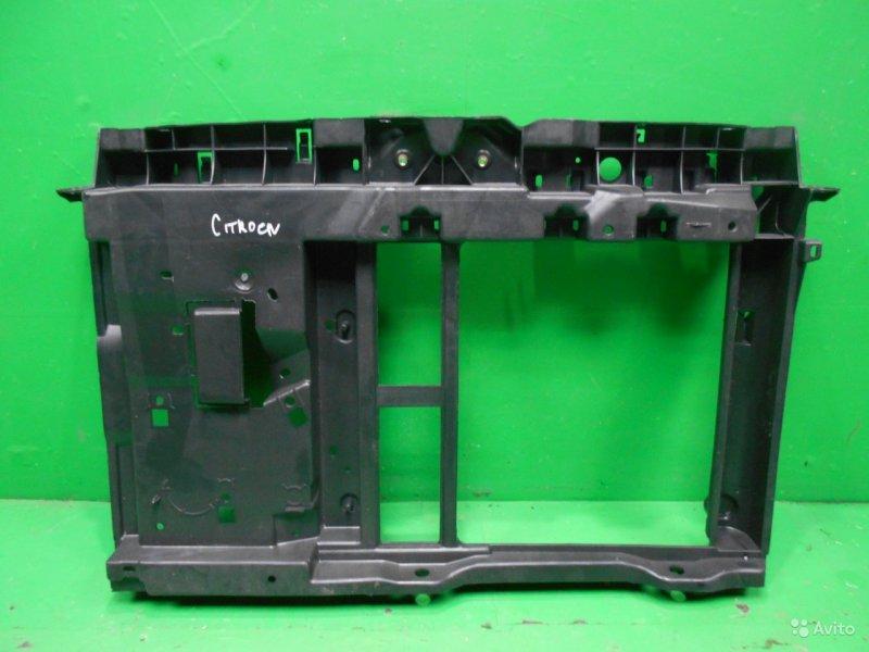Панель передняя ( телевизор ) Citroen C3 2 2009 (б/у)
