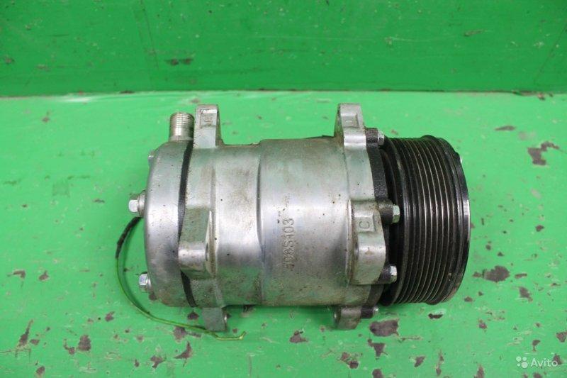 Компрессор кондиционера Peugeot 508 2011 (б/у)