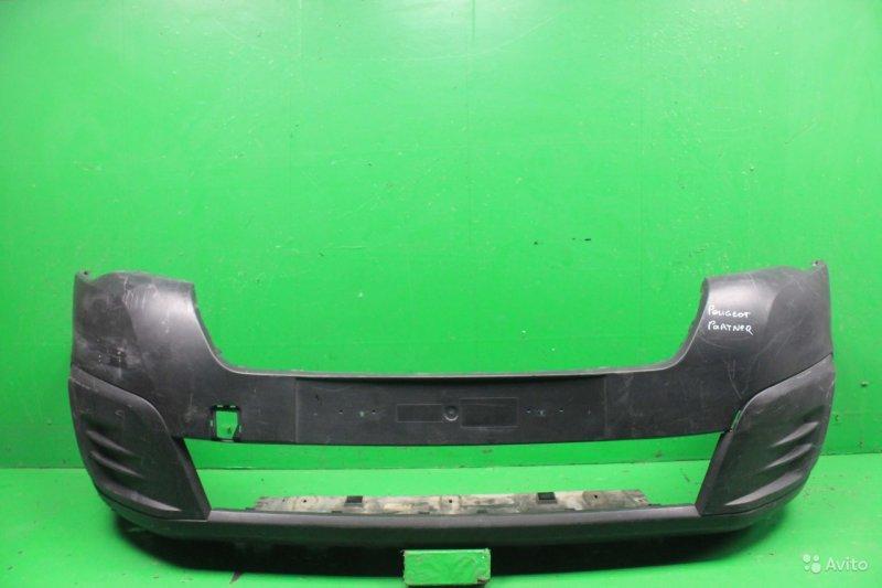 Бампер Peugeot Partner 2 РЕСТАЙЛИНГ 2 2015 передний (б/у)