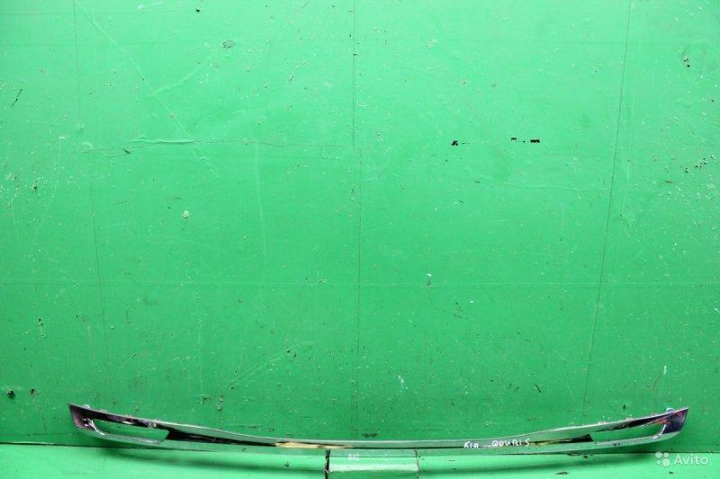 Накладка двери багажника Kia Quoris 2012 (б/у)