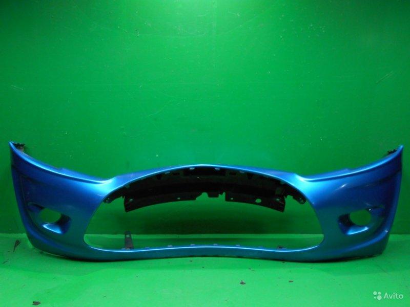 Бампер Citroen C3 2 2009 передний (б/у)