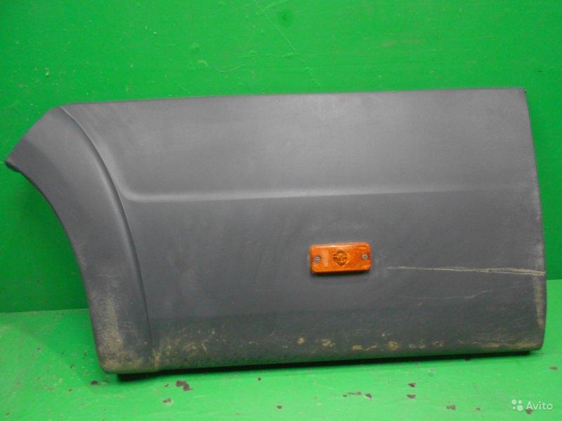 Накладка крыла Citroen Jumper 2 2007 задняя левая (б/у)
