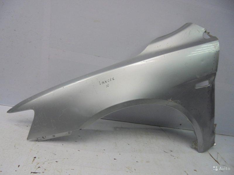 Крыло Mitsubishi Lancer 10 2007 переднее левое (б/у)