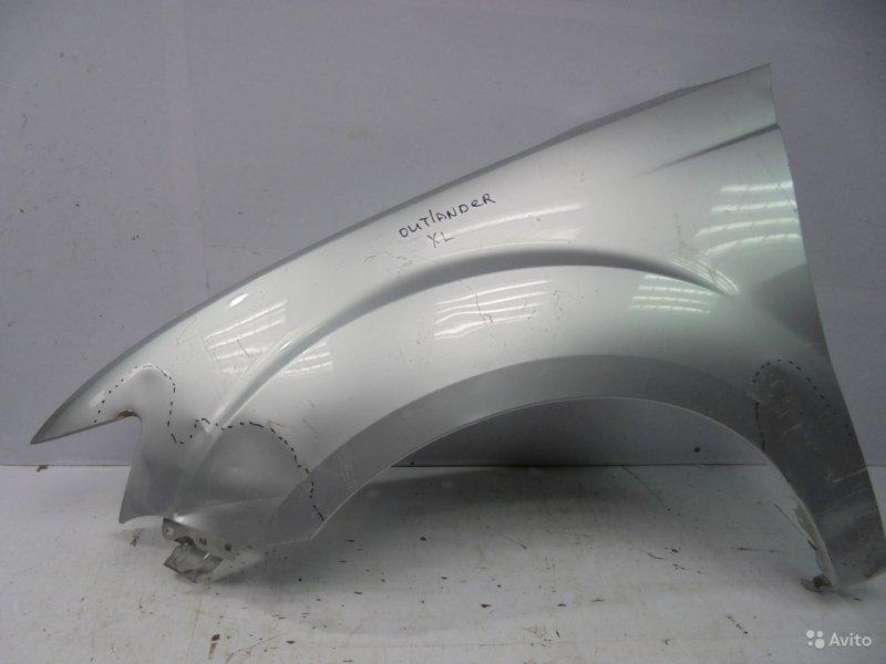 Крыло Mitsubishi Outlander Xl 2010 переднее левое (б/у)