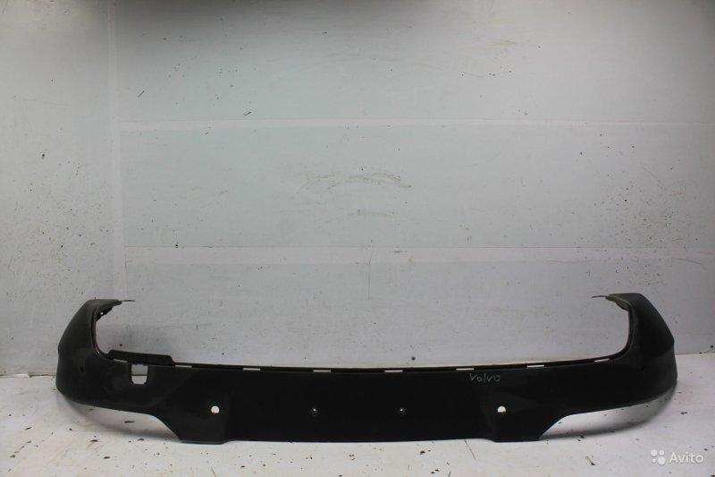 Юбка бампера Volvo V40 2 2012 задняя (б/у)
