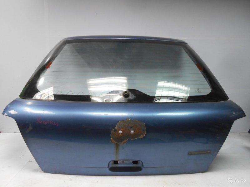 Дверь багажника Subaru Impreza Wrх 2 2000 (б/у)