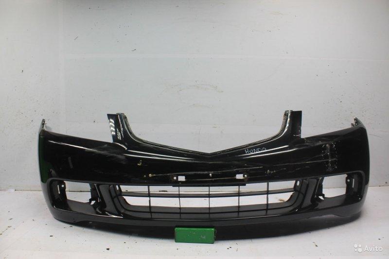 Бампер Honda Accord 7 2002 передний (б/у)
