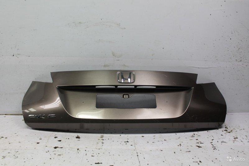 Накладка двери багажника Honda Civic 9 2012 (б/у)