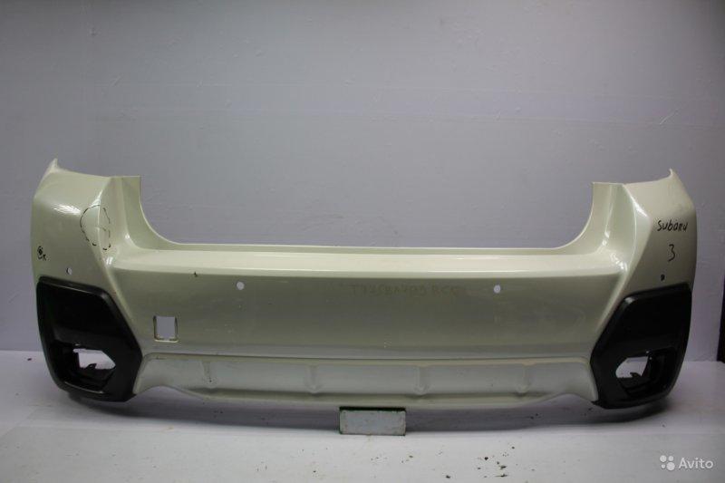 Бампер Subaru Xv 2 2017 задний (б/у)