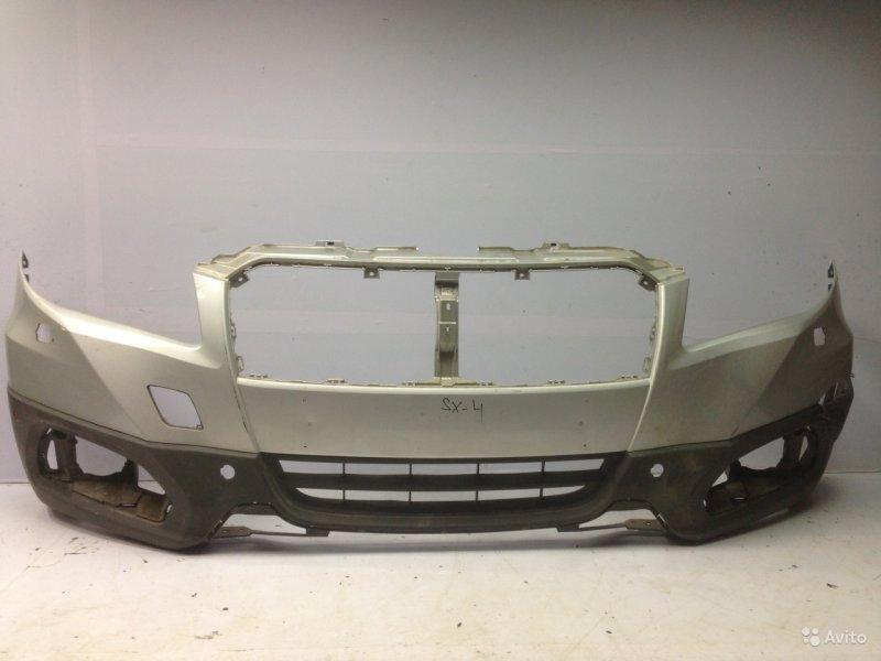 Бампер Suzuki Sx4 2 2013 передний (б/у)