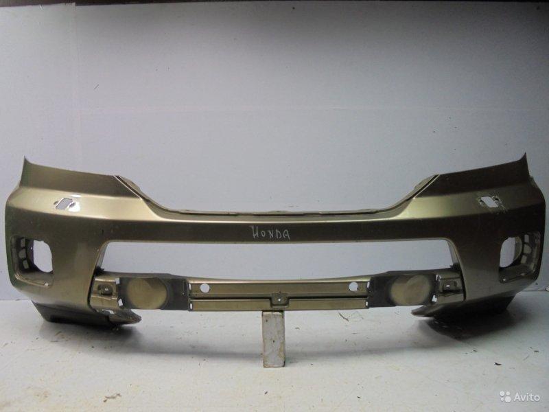 Бампер Honda Pilot 2 2008 передний (б/у)