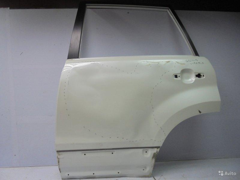 Дверь Suzuki Grand Vitara JT 2005 задняя левая (б/у)
