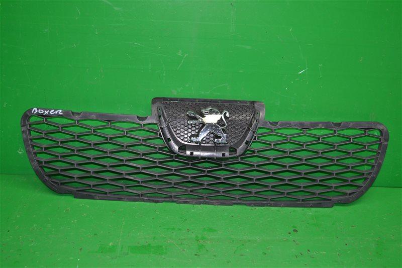 Решетка радиатора Peugeot Boxer 3 2006 (б/у)