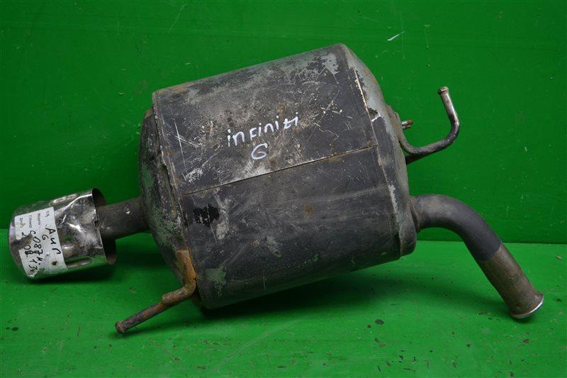 Глушитель Infiniti G V36 2006 (б/у)