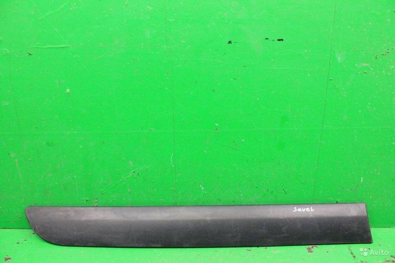 Накладка двери Fiat Scudo 2 2007 передняя правая (б/у)