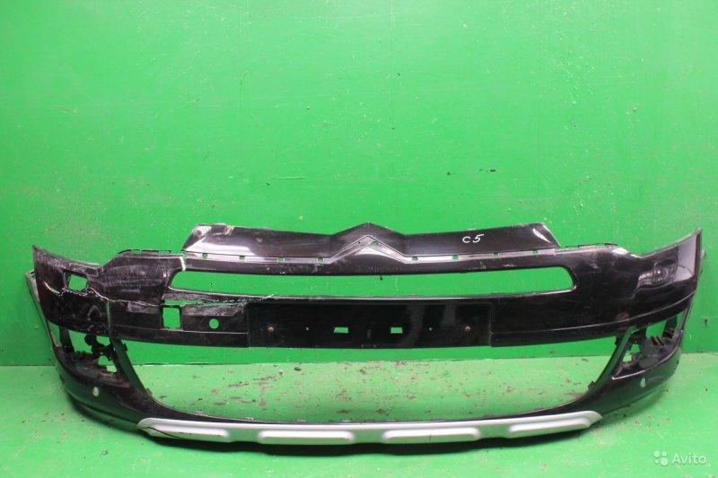 Бампер Citroen C5 2 2008 передний (б/у)