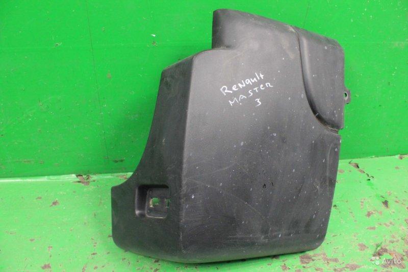 Бампер Renault Master 3 2010 задний правый (б/у)