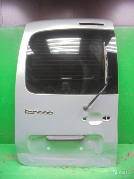 Дверь багажника Renault Kangoo 2 РЕСТАЙЛИНГ 2013 левая (б/у)