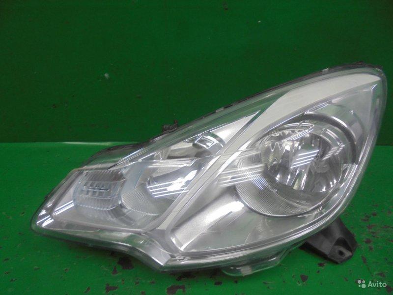 Фара Citroen C3 2009 левая (б/у)