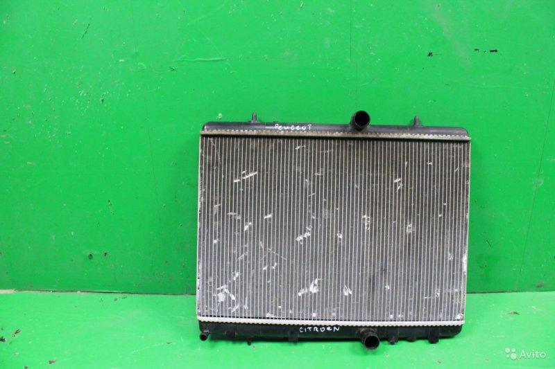Радиатор охлаждения Peugeot 308 2007 (б/у)