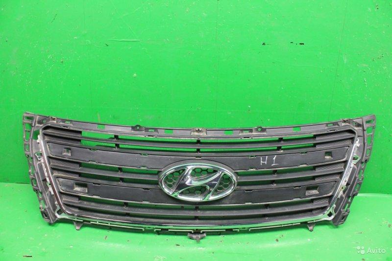 Решетка радиатора Hyundai Starex H1 РЕСТАЙЛИНГ 2 2015 (б/у)