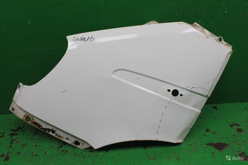Крыло Газель Соболь 2003 переднее левое (б/у)