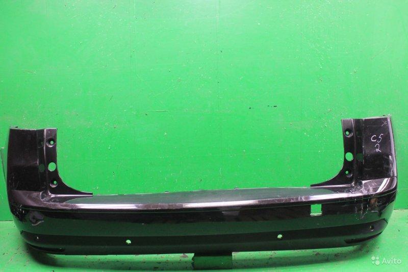 Бампер Citroen C5 2 2008 задний (б/у)