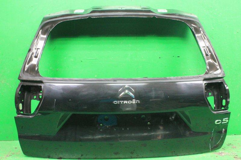 Дверь багажника Citroen C5 2 2008 (б/у)