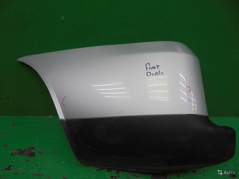 Бампер Fiat Doblo РЕСТАЙЛИНГ 2005 задний левый (б/у)