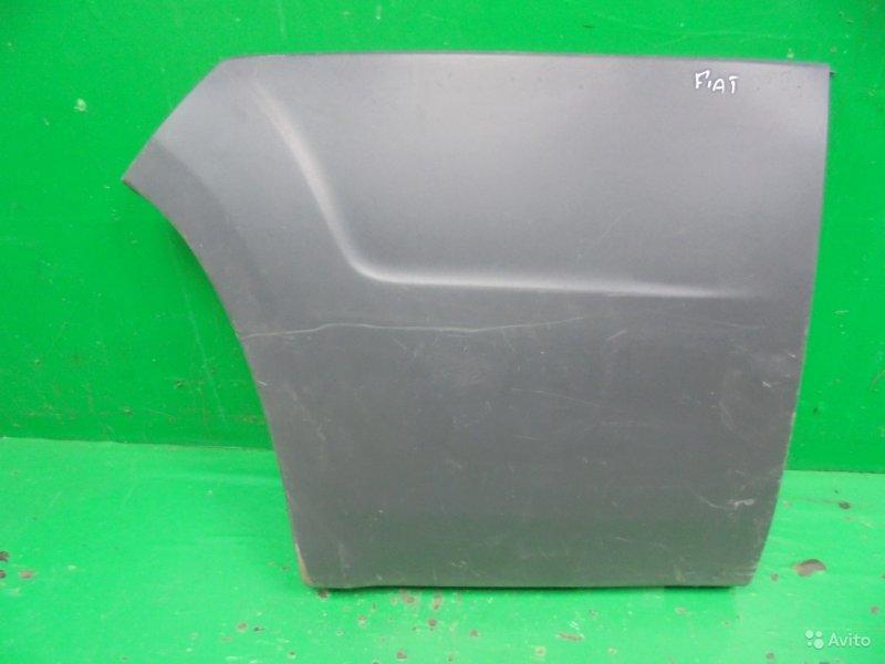 Накладка крыла Peugeot Boxer 2006 задняя правая (б/у)