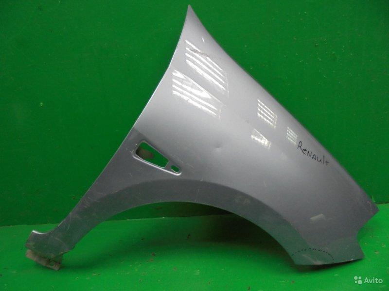 Крыло Renault Symbol 2 2008 переднее правое (б/у)