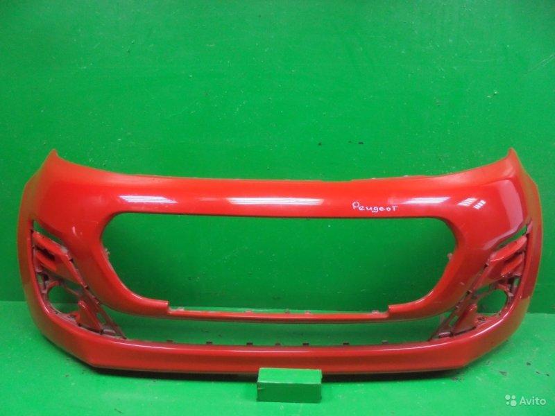 Бампер Peugeot 107 РЕСТАЙЛИНГ 2 2012 передний (б/у)