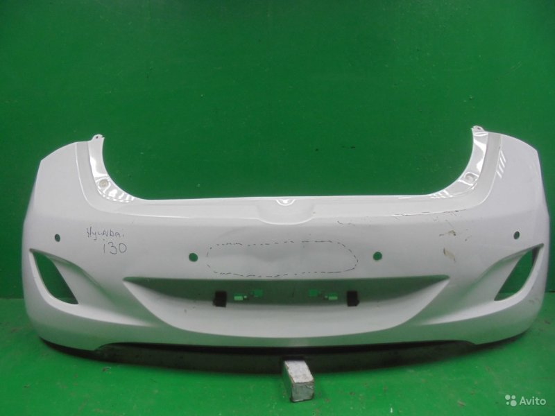Бампер Hyundai I30 2012 задний (б/у)