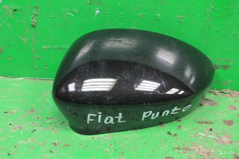 Корпус зеркала Fiat Punto 3 2005 левый (б/у)