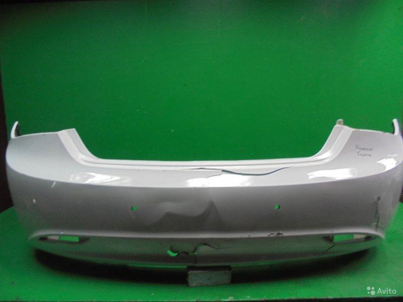 Бампер Hyundai Sonata 6 2009 задний (б/у)