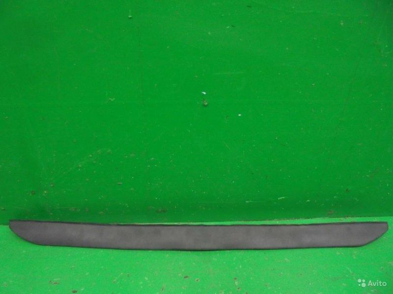Накладка бампера Toyota Augo РЕСТАЙЛИНГ 2 2012 передняя (б/у)