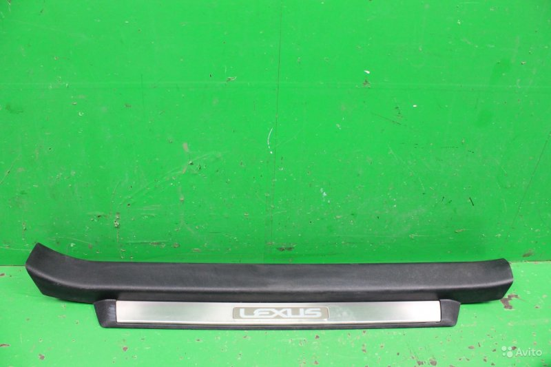 Накладка порога Lexus Gs 4 2011 левая (б/у)