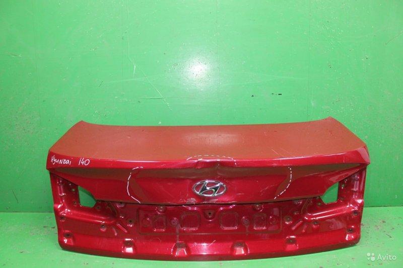Крышка багажника Hyundai I40 2011 (б/у)