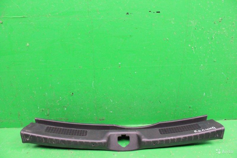Накладка замка багажника Lada Kalina 2 2013 (б/у)
