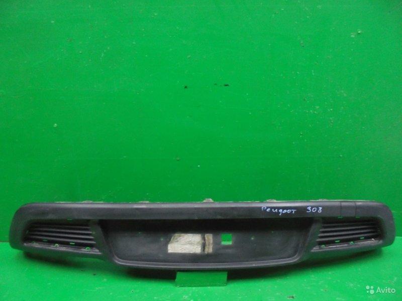 Юбка бампера Peugeot 308 2007 задняя (б/у)
