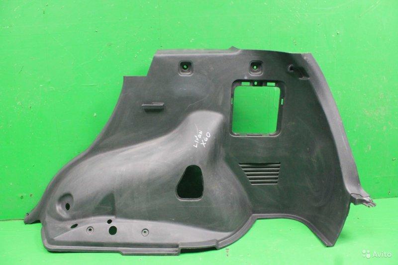 Обшивка багажника Lifan X60 2011 правая (б/у)